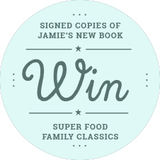Win Signed Copies Of Jamie's New Book - Super Food Family Classics