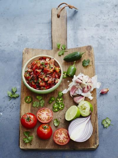 Jamie Oliver Tomato Salsa The Ministry Of Food Recipes