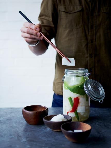 Radish water kimchi