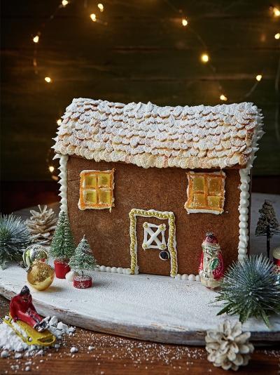 Home sweet home – Gingerbread house