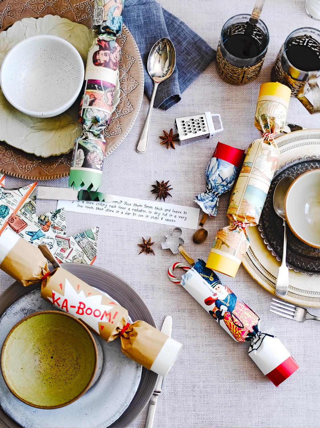How to make homemade Christmas crackers - Jamie Oliver | Features