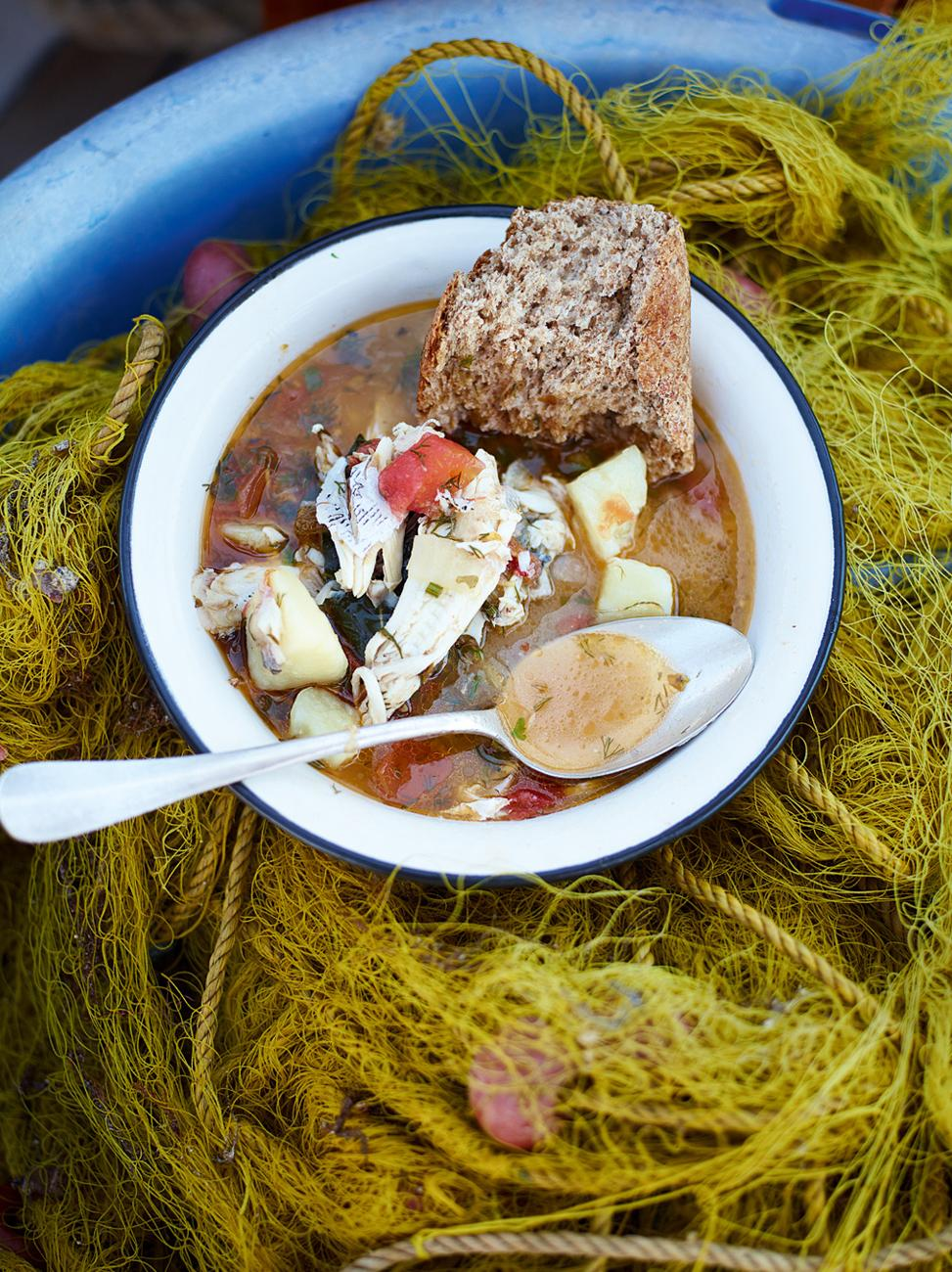 5 tips to nail your slow cooker recipes jamie oliver for Slow cooker fish stew