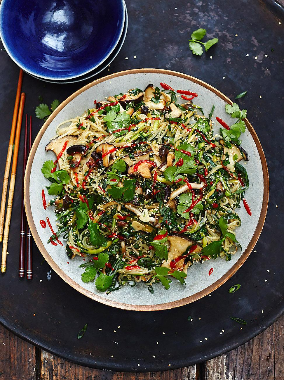 Vegan Chinese Noodles