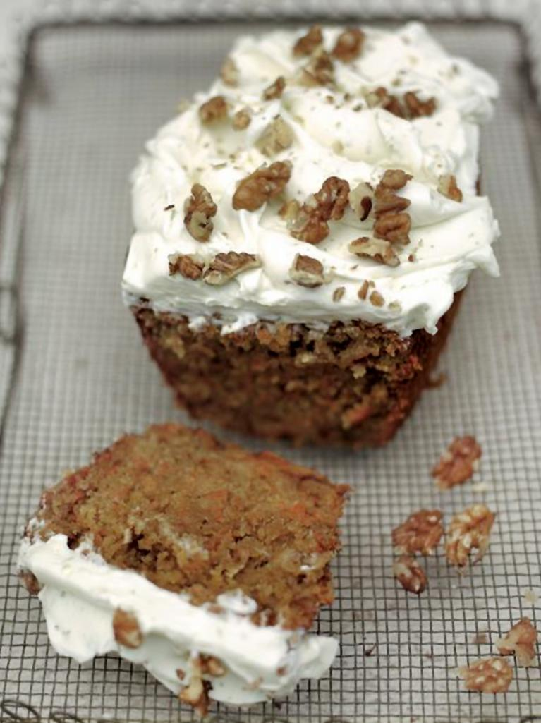 Carrot Cake With Cream Cheese Frosting Jamie Oliver