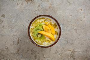Kiwi, mango and passion fruit
