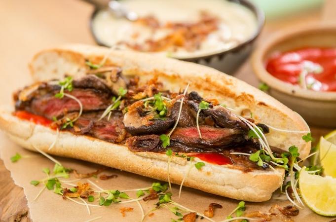 Japanese Steak Sandwich