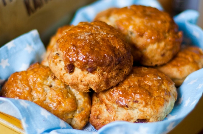 How To Make Bacon Buttermilk Scones