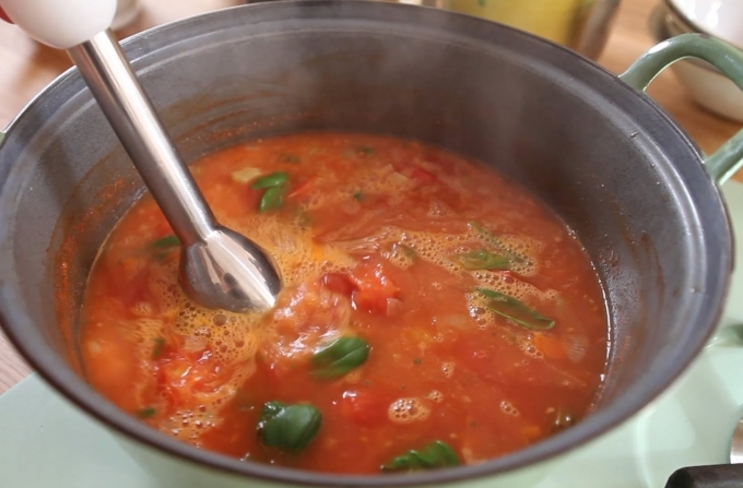 Georgie Cooks Tomato Soup