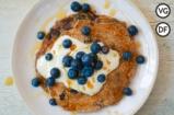 Vegan Blueberry Pancakes | Tim Shieff