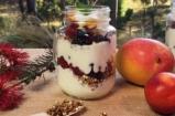 Fruit & Muesli Yogurt Parfait   Dani Stevens