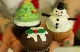Jemma's Novelty Christmas Cupcakes