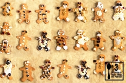 Christmas Gingerbread Men | Jools Oliver