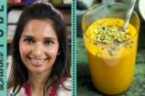 Mango & Saffron Lassi Recipe | Maunika Gowardhan