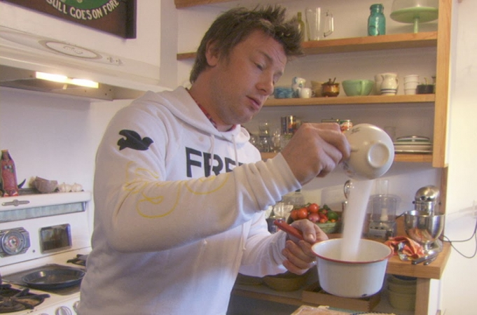 Jamie Oliver, the ex-gangster and a chocolate tart