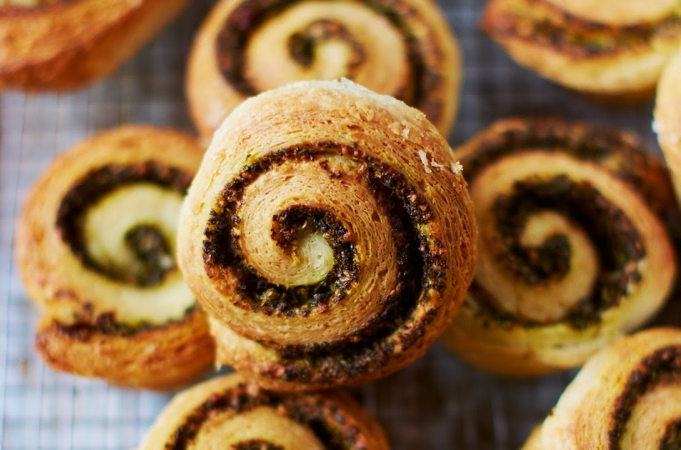 Savoury Morning Buns