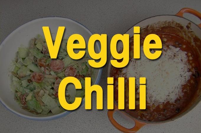 Jamie Oliver's amazing veggie chilli by EAT IT!