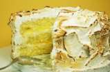 Triple-Layer Lemon Meringue Cake with Marshmallow Icing | Cupcake Jemma