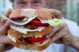 DJ BBQ's Turkey Super Club Sandwich