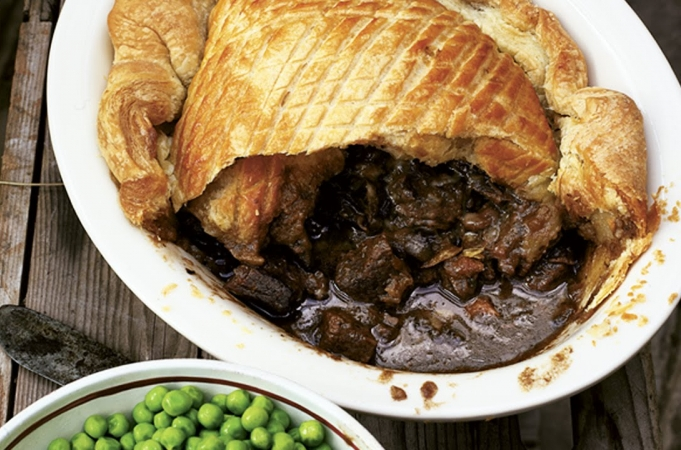 Steak & Guinness Pie - Jamie at Home
