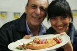 Mushroom Milanese with Criollo Salsa | Gennaro & Felicitas