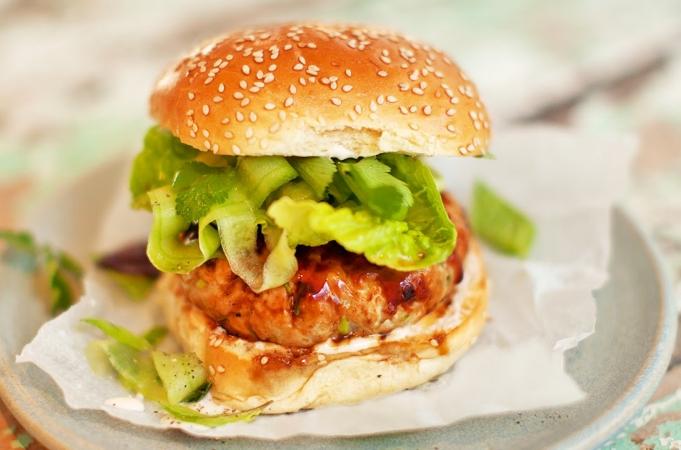 Ultimate Tuna Burger