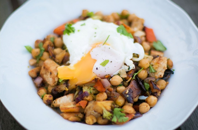 Leftover Thanksgiving Turkey Hash