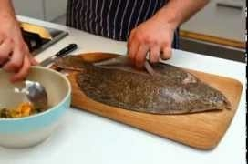 How To - prepare flatfish, from Jamie's America