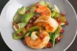 Ginger Sesame Glazed Jumbo Shrimp | Kelis