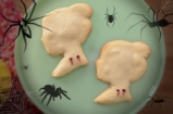 Vampire Bite Halloween Cookies | Dulce Delight