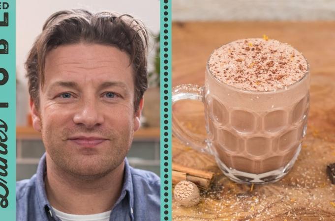 Jamie's Chocolate Eggnog Recipe