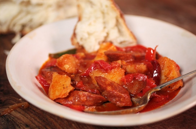 Spanish Chorizo & Potato Stew