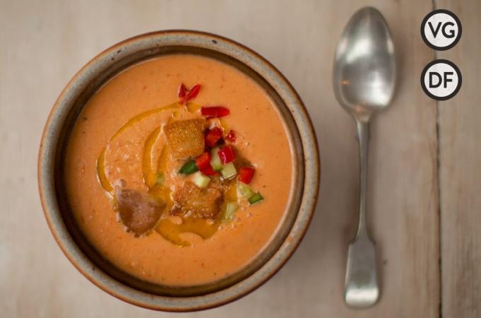 Traditional Gazpacho Soup
