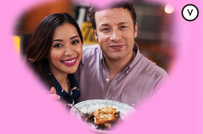 Jamie Oliver & Michelle Phan's Romantic Meal