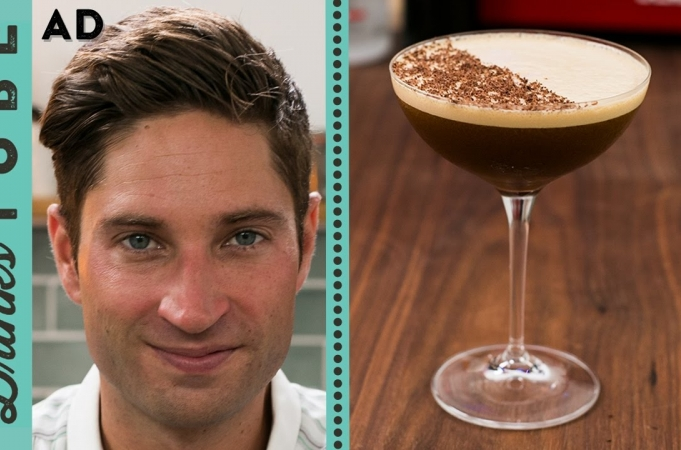 Chocolate Orange Espresso Martini