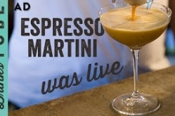 Espresso Martini Cocktails | Was Live | Joey Medrington