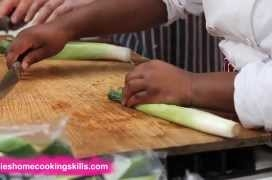 How to prepare spinach and leeks - Jamie Oliver's Home Cooking Skills
