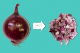 How To Chop An Onion | 1 Minute Tips | Food Busker
