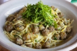 Linguine with Steamed Meatballs | Gennaro Contaldo