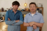 Jamie Oliver's fantastic cheesy pasta with Alex James from Blur