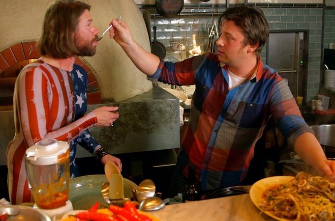 Jamie Oliver & DJ BBQ - Spaghetti Vongole with Squid