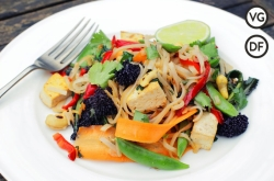 Veggie Noodle Stir-Fry | Danny McCubbin