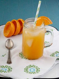 Honey clementine fizz