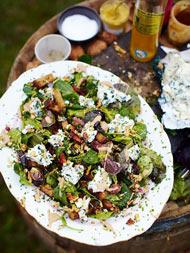 Roquefort salad