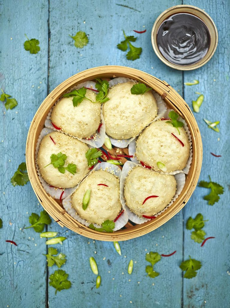 13 veggie recipes to make meat eaters envious galleries jamie oliver greek vegetable kebabs vegan dim sum buns forumfinder Images