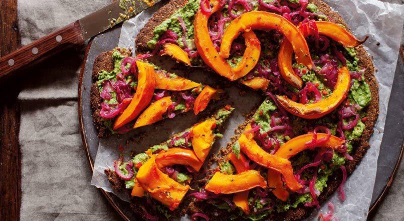 Vegetarian nut roast: Anna Jones