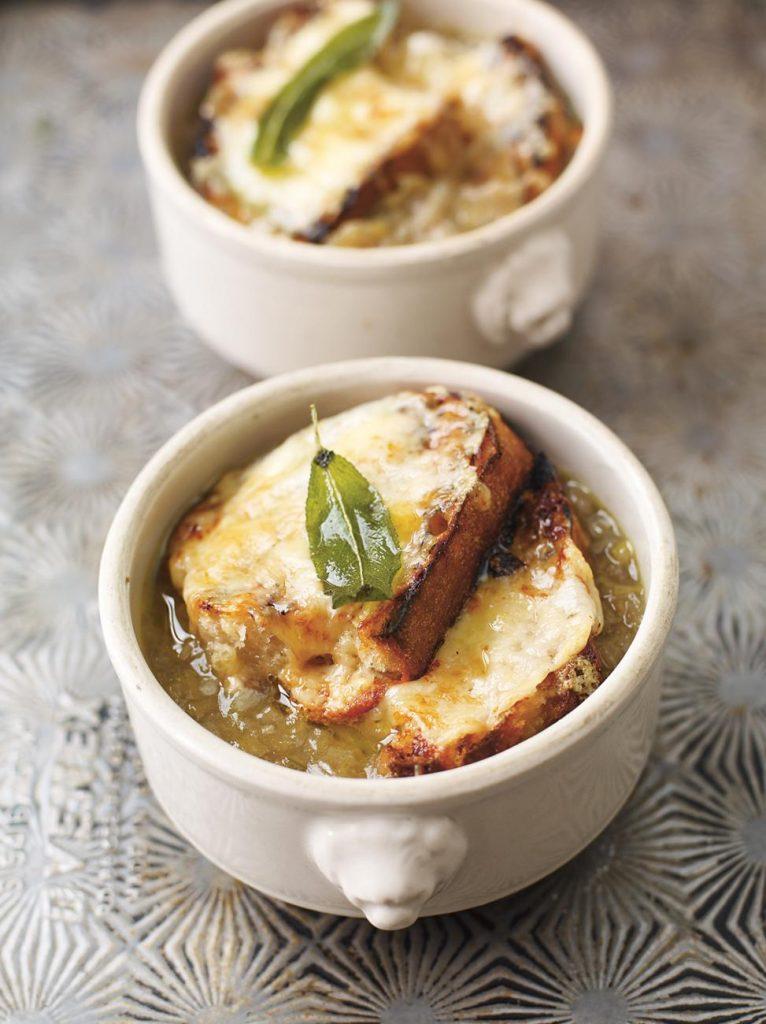 English onion soup