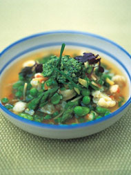 Spring minestrone