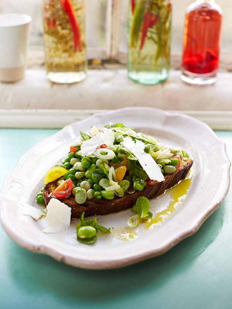 Peas on toast!