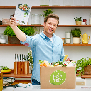 Make home cooking easy with Jamie & HelloFresh