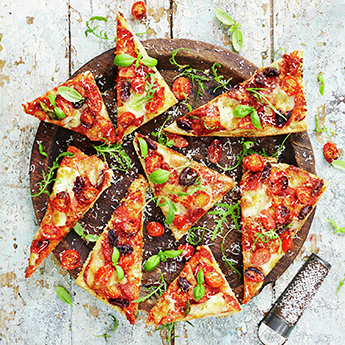 Learn how to make proper pizza at the Jamie Oliver Cookery School
